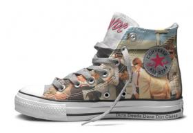 Converse Chucks, AC/DC, Dirty Deeds Done Dirt Cheap