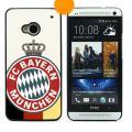 Cool bekannte Bayern-München Fußball Club Design für HTC ONE M7 Malerei PC Aluminium Hard Case Back Cover