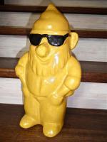 Cooler Dekozwerg mit Brille