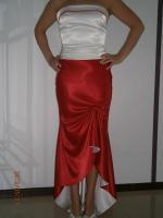 Foto 5 Corsagenkleid Abendkleid 2 TL von Rengin Weis/Rot 36