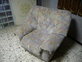 Foto 3 Couch (3-Sitzer) mit 2 Sesseln