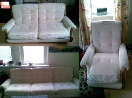 Couch-Garnitur zu verschenken!!!
