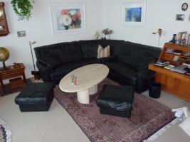 Couch Ledergarnitur