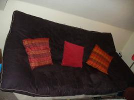 Foto 2 Couch/Sofa 3-Sitzer und passender Sessel zu verkaufen