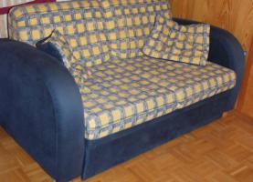 Couch Sofa für Jugendzimmer oder Schlafzimmer mit Schalffunktion und integriertem Lattenrost