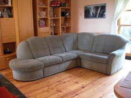 Couch/Sofa mit Schlaffunktion von HIMOLLA mit Qualitäts-Pass