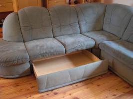 Foto 2 Couch/Sofa mit Schlaffunktion von HIMOLLA mit Qualitäts-Pass