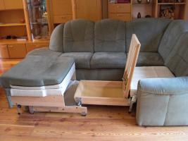 Foto 3 Couch/Sofa mit Schlaffunktion von HIMOLLA mit Qualitäts-Pass