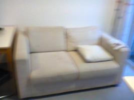 Foto 4 Couch und kleineres Wohnzimmerregal