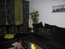 Foto 2 Couch / Sofa 2 und 3 Sitzer Amerikan Style  schwarz
