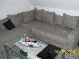 Foto 5 Couch, U-Form, grau/schwarz