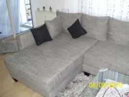 Foto 6 Couch, U-Form, grau/schwarz