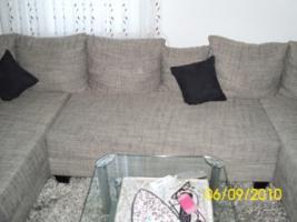 Foto 7 Couch, U-Form, grau/schwarz