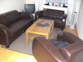 Couchcarnitur 3,2 ,1sessel mit tisch