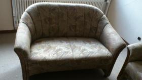 Couchgarnitur-3er,2er und Sessel