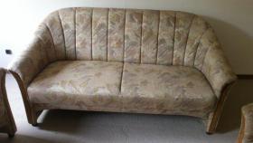 Foto 2 Couchgarnitur-3er,2er und Sessel