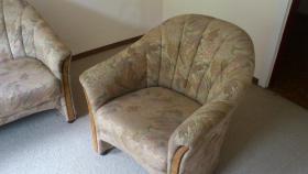 Foto 3 Couchgarnitur-3er,2er und Sessel