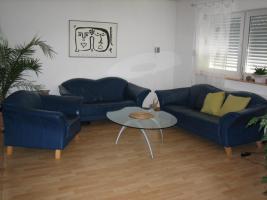 Couchgarnitur 3er, 2er & Sessel, Leder