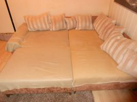 Foto 2 Couchgarnitur ''Michelle'' in L-Form mit 11 Kissen (225x190x68 cm)