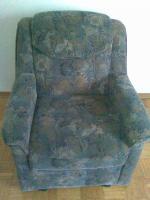 Foto 3 Couchgarnitur mit Schlaffunktion (3-sitzer+abgerundetes Eckteil+2-sitzer) und Sessel