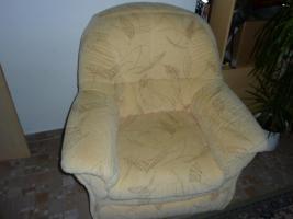 Foto 3 Couchgarnitur mit Schlaffunktion und Sessel