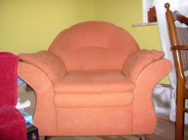 Foto 2 Couchgarnitur mit Sessel