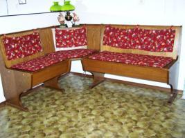 Foto 3 Couchgarnitur im englischen Stil, zeitloses Küchenbuffet /schöne Vitrine!