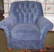 Foto 5 Couchgarnitur im englischen Stil, zeitloses Küchenbuffet /schöne Vitrine!
