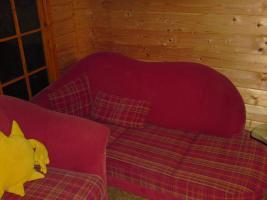 Foto 3 Couchgarnitur gebraucht, Federkern, Cord-Optik