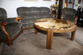 Foto 2 Couchgarnitur inklusive Marmortisch