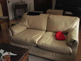 Foto 2 Couchgarnitur, Leder
