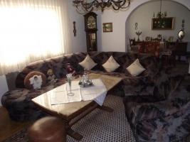 Couchgarnitur /Stoffbezug und separater passender Einzelsessel