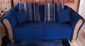 Foto 2 Couchgarnitur, sehr gut erhalten!