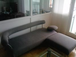 Couchsofa und Sessel