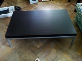 couchtisch schwarz braun clubbo tisch in wien mahagoni holz rechteckig furniert. Black Bedroom Furniture Sets. Home Design Ideas