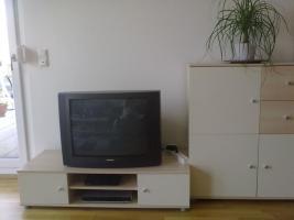 Foto 2 Creme/weiße Wohnwand, Lounge, 4 teilig