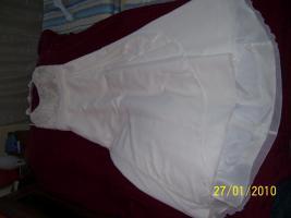 Foto 2 Cremefarbenes Brautkleid in der 34.SSW getragen, kein Umstandskleid