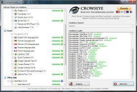 Crowseye Installer - Gratis Software f�r Ihren PC mit einem Klick installieren