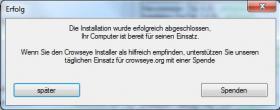 Foto 2 Crowseye Installer - Gratis Software f�r Ihren PC mit einem Klick installieren