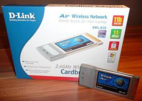 D-Link Cardbus Adapter