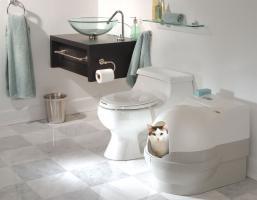 Foto 2 DAS ECHTE WC für Ihre Katze - das System CatGenie 120!