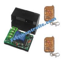 DC Funkschalter 9v 12v 24v einkanal mit 30A Hochleistung Lichtschalter Funk Türöffner Garagentor Fernbedienung