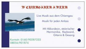 Foto 2 D'Chiemgauer Adler Live Musik haben für  2013 noch Termin frei