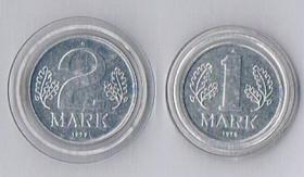 DDR 1und 2 Mark 1979 ! !