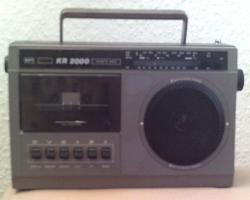 DDR Kassettenrecorder KR 2000