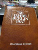 DDR MÜNZ SET 750 Jahre Berlin