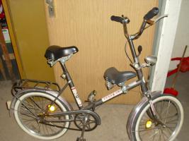 ddr minirad fahrrad klapprad 20 zoll mifa minifahrrad in. Black Bedroom Furniture Sets. Home Design Ideas