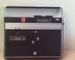 DDR.. RFT Kassettenrecorder Annet mit Radio