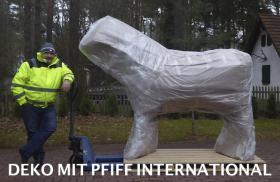 Foto 4 DECO HORSE FÜR IHREN VERKAUFSSTAND AUF DER FACHMESSE IN DEINER REGION …TEL. 03376730750