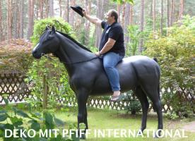 Foto 2 DECO HORSE LEBENSGROSS WAS SOLLN WIR SCHREIBEN ...